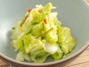 Bếp Eva - Rảnh rỗi làm bắp cải muối kiểu Nhật