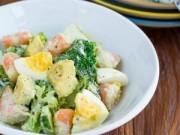 Bếp Eva - Salad tôm dễ làm cho cuối tuần