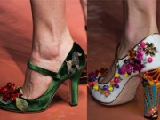 Thời trang - Giày đẹp như tuyệt tác nghệ thuật của Dolce&Gabanna