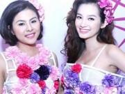 Thời trang - HH Trúc Diễm mặc váy hoa rạng ngời sau khi cưới
