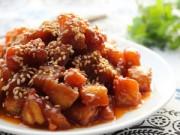 Bếp Eva - Thịt gà sốt chua ngọt nóng hổi