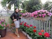 Nhà đẹp - Tình yêu 'ăn hoa, ngủ cũng hoa' của cô giáo Quảng Ninh