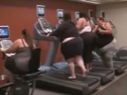 Clip Eva - 4 nàng béo trong phòng tập gym