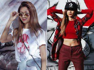 Street style bụi bặm của nữ rapper Suboi