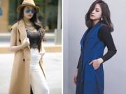 Tư vấn mặc đẹp - Một kiểu áo khoác dành cho hai kiểu thời tiết Bắc - Nam