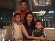 Hậu trường - Gia đình HH Hà Kiều Anh ngày càng hạnh phúc
