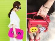 """Thời trang - Những chiếc túi """"chất chơi"""" của chị em Song Yến"""