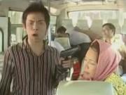 Clip Eva - Hài Việt Hương: Cướp trên xe