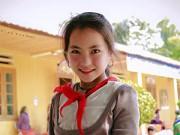 """Dạy con - Dân mạng """"liêu xiêu"""" với vẻ đẹp của bé gái người Mông"""