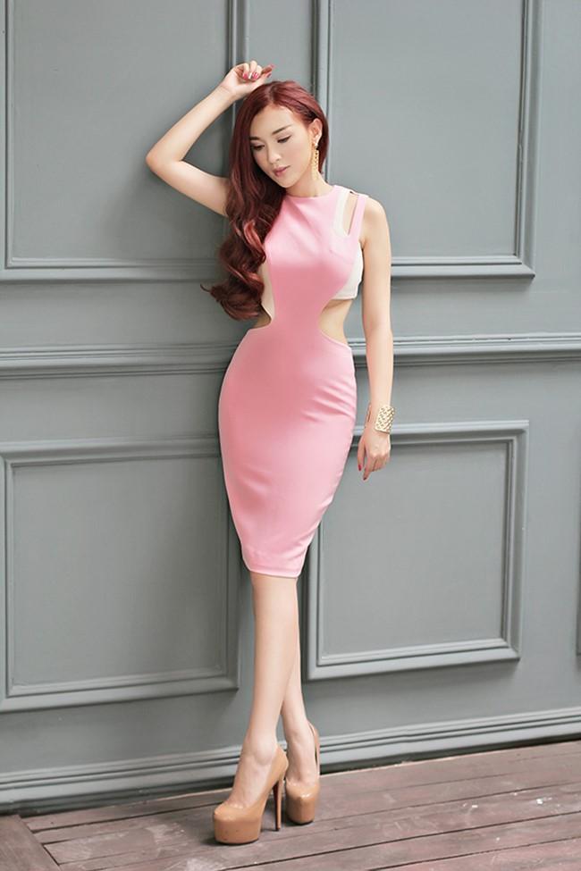 Kelly là một trong những hotgirl đình đám của làng giải trí Việt