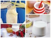 Thực đơn – Công thức - 4 món sữa bổ dưỡng ngày cuối tuần