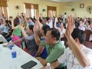 """Tin trong nước - Đà Nẵng: Dân """"thách"""" lãnh đạo để dân giơ tay biểu quyết!"""