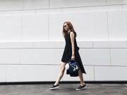 Thời trang Sao - Minh Hằng khoe thời trang hè tươi rói ở Thái Lan