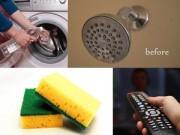 Mẹo vặt gia đình - Mẹo lau 10 vật dụng gia đình trong MỘT phút