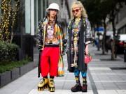 Thời trang - Đến Nhật Bản xem tín đồ thời trang mặc khác người
