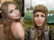 Làm đẹp - Ngỡ ngàng trước vẻ đẹp mê hoặc của nữ lính dù Nga