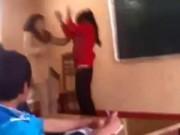Tin tức - Clip cô giáo rượt đánh và dọa chém nữ sinh trong lớp