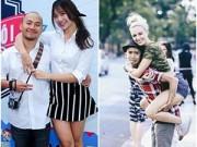 """Hậu trường - 2 cặp sao """"trai Việt gái Tây"""" xứng đôi nhất nhì showbiz"""