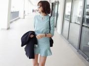 Thời trang công sở - Nàng công sở mặc 'váy loa kèn' chờ mùa hè
