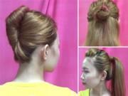 Làm đẹp - Hướng dẫn tạo 5 kiểu tóc sang trọng dễ làm nhất