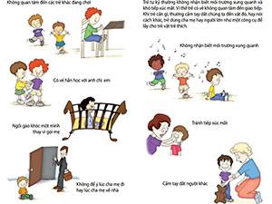 Infographic: Dấu hiệu trẻ tự kỷ cần phát hiện càng sớm càng tốt