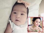 Làng sao - Phan Thị Lý lần đầu khoe ảnh con gái mới sinh