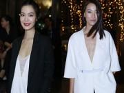 Thời trang - Thùy Dung, Trang Khiếu hờ hững vòng 1 đi xem thời trang