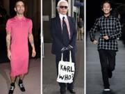 Thời trang - Cách mặc cá biệt của ba 'ông hoàng' thời trang