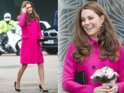 Hậu trường - Bà bầu Công nương Kate gượng cười dù đang mệt mỏi
