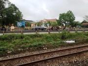 Tin trong nước - Thương tâm: Hai chị em bị tàu hỏa tông tử vong
