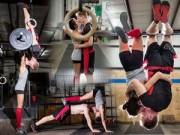 Nhân vật đẹp - Bộ ảnh cặp đôi tình tứ trong phòng tập gym gây 'sốt'