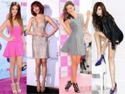Dáng đẹp - Những người đẹp có đôi chân đạt chuẩn tỷ lệ vàng