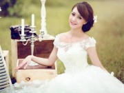 """Thời trang cưới - Chọn váy cưới """"chuẩn không cần chỉnh"""" cho cô dâu"""