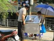 Tin tức - Người Hà Nội vật vã trong nắng nóng đầu hè