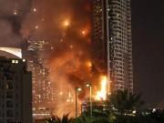 Tin tức - Cháy dữ dội khách sạn 63 tầng ở Dubai đêm giao thừa