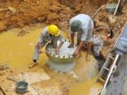 Tin tức - Khắc phục xong sự cố đường nước sạch sông Đà lần thứ 17