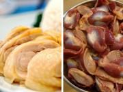 Làm mẹ - Những bộ phận của gà dù ngon nhưng có hại cho trẻ