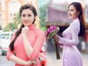 Làm đẹp - 6 kiểu tóc kết hợp áo dài đẹp nhất của sao Việt