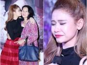 Làng sao - Trương Quỳnh Anh khóc như mưa trong tiệc sinh nhật