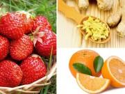 Thực phẩm giúp detox cả cơ thể cho chị em đón Tết