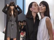 Thời trang - Hà Anh làm vedette bí ẩn trong thiết kế của Trang Khiếu
