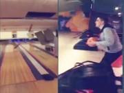 Clip Eva - Chơi bowling phá thủng trần nhà