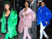Thời trang - BST áo khoác không phải ai cũng dám mặc của Rihanna