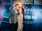 Doãn Tuấn tình cảm hôn Quỳnh Nga trong ngày ra mắt MV