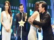 Làng sao - Trương Ngọc Ánh ôm và chúc mừng chồng cũ Trần Bảo Sơn