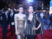 Làng sao - MC Kỳ Duyên đi cổ vũ Trương Quỳnh Anh nhận giải