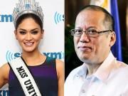 Làng sao - HHHV 2015 lên tiếng về tin đồn hẹn hò Tổng thống Philippines
