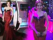 Làng sao - Hot: Elly Trần ngồi xe sang, tái xuất rạng ngời sau sinh