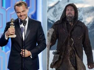 Leo DiCaprio chiến thắng vang dội tại Quả Cầu Vàng 2016
