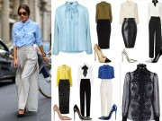 Thời trang - Nữ công sở mùa xuân rất cần áo sơ mi cổ thắt nơ!